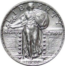 1923_s_standing_liberty_quarter_obverse