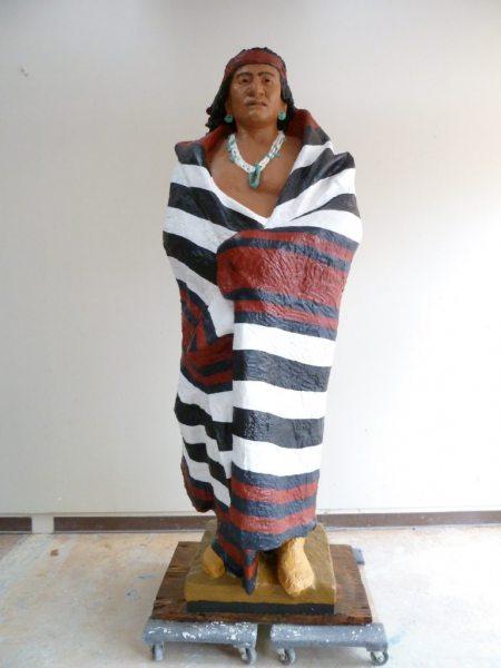 Manuelito-0-native-American-plaster-sculpture-after-conservation-768x1024