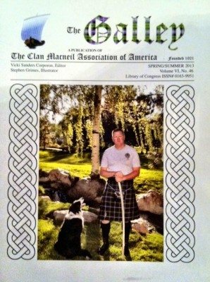 """The Galley"" Spring/Summer 2013; Clan MacNeil Association of America"